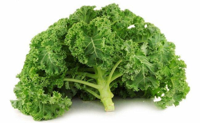 Thực phẩm giàu vitamin E - Cải xoăn