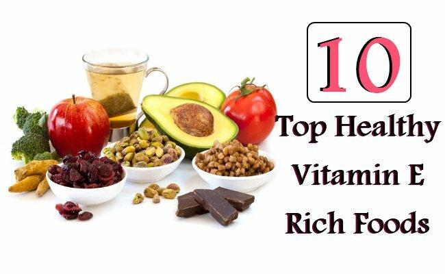 Top 10 thực phẩm giàu vitamin E